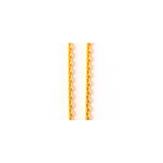 Chaine de cou plaqué or