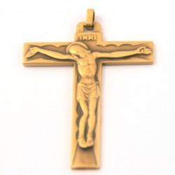 Croix d'aube en bronze