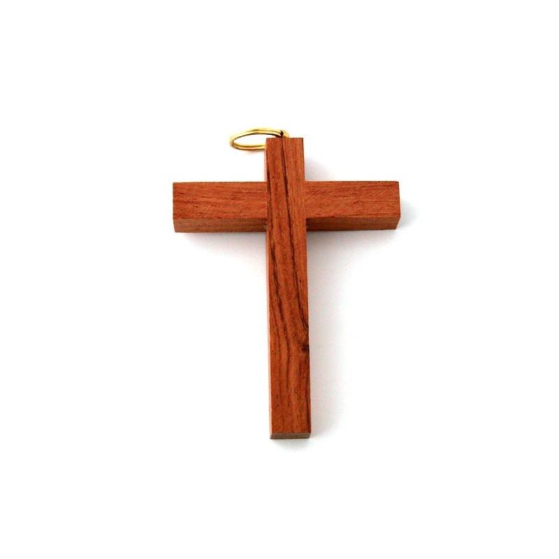 croix d 39 aube en bois fonc comptoir religieux. Black Bedroom Furniture Sets. Home Design Ideas