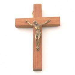 Crucifix en bois bubinga