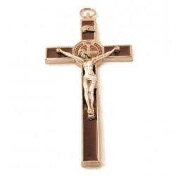 Croix de Saint Benoit marron
