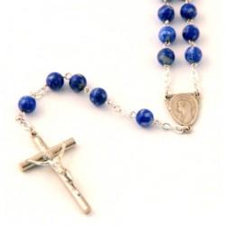 Chapelet lapis-lazuli
