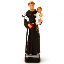 Statue religieuse Saint Antoine 20cm