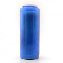 Bougie neuvaine bleue
