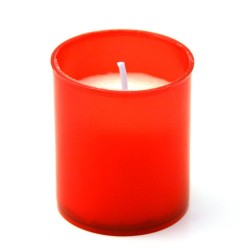 6 Bougies votive rouges