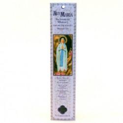 Encens batonnet pour neuvaine ND Lourdes