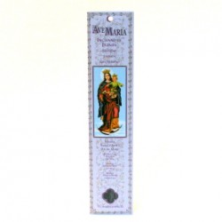 Encens batonnet pour neuvaine à la Vierge Auxilliatrice