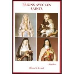 Livret de neuvaine Prions avec les Saints - éditions St Bernard