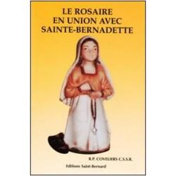 Le rosaire avec Sainte Bernadette - éditions Saint Bernard