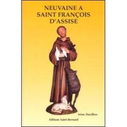 Livret de neuvaine à Saint Francois d'Assise - éditions Saint Bernard