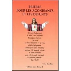 Livret de neuvaine Prières pour les agonisants et les défunts - éditions Saint Bernard