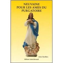Livret de neuvaine pour les âmes du purgatoire - éditions Saint Bernard