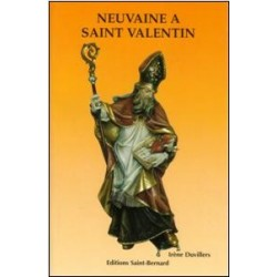 Livret de neuvaine à Saint Valentin - éditions Saint Bernard