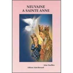 Livret de neuvaine à Sainte Anne - éditions Saint Bernard