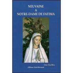 Livret de neuvaine à Notre dame de Fatima