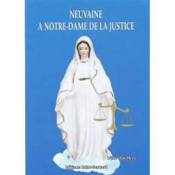 Livret de neuvaine à ND de la justice - éditions Saint Bernard