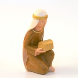 Crêche Yves le Pape - Roi Melchior