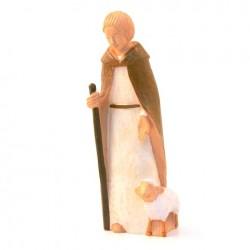 Crêche Yves le Pape - Berger et mouton
