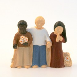 Crèche Yves le Pape - Fraternité