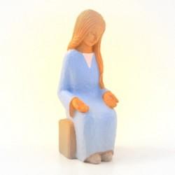Crèche Yves le Pape - Vierge Marie