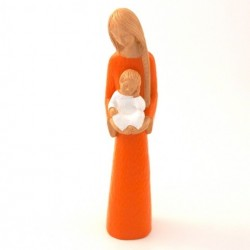 Statue Yves le Pape - Marie de la confiance