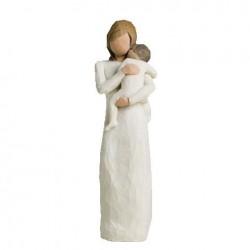 Crèche Willow Tree - Vierge enfant de mon coeur