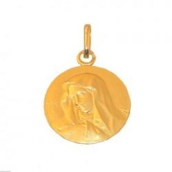 Médaille baptême Vierge - Or