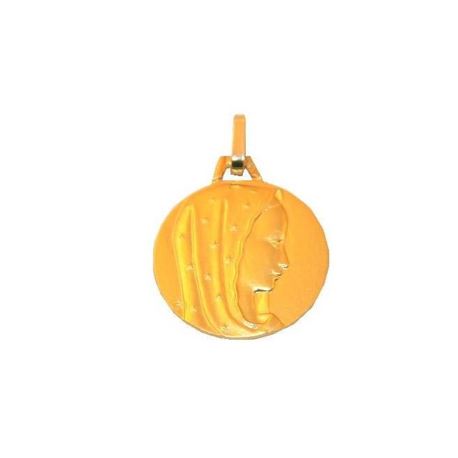 Médaille Vierge étoilée - Or