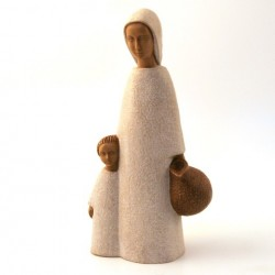 Grande Vierge de Nazareth blanche - Soeurs de Bethleem