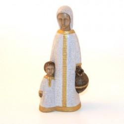 Petite Vierge de Nazareth blanche - Soeurs de Bethleem