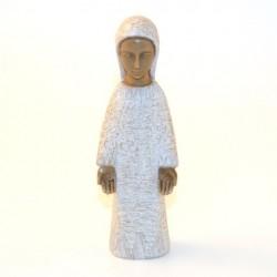 Vierge de l'annonciation blanche