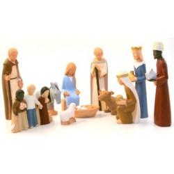 Crèche Yves le Pape complète