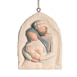 Statue Willow Tree - Applique Sainte Famille