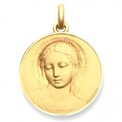 """Médaille baptême """"Virgo Amabilis"""" - Or"""