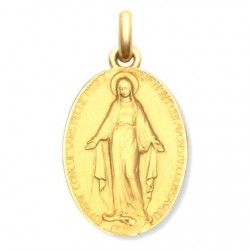 Médaille Vierge Miraculeuse - Or