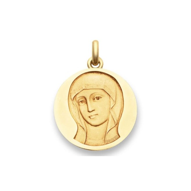 Médaille Vierge Byzantine - Or
