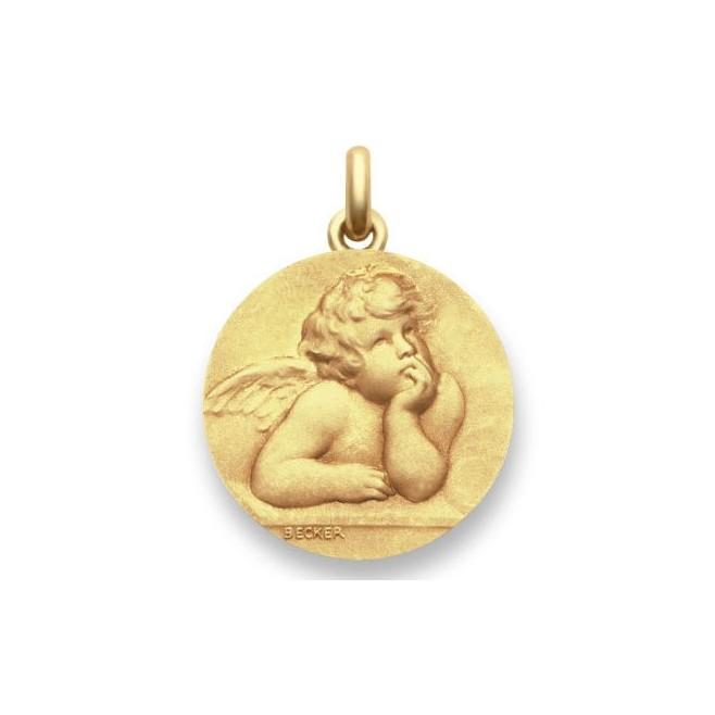 Médaille Ange Raphael - Or