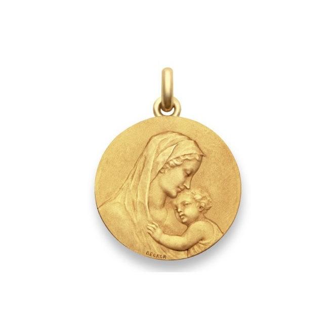 Médaille Vierge maternité - Or