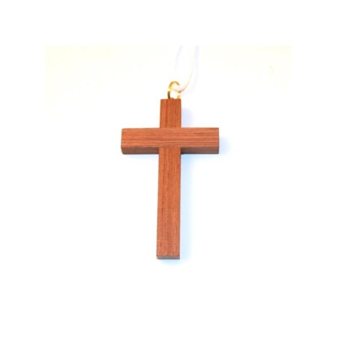 Croix d'Aube en bois bubinga