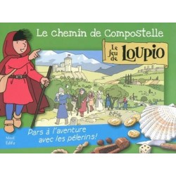 Loupio jeu : Les chemins de Compostelle - Edition Mame Edifa