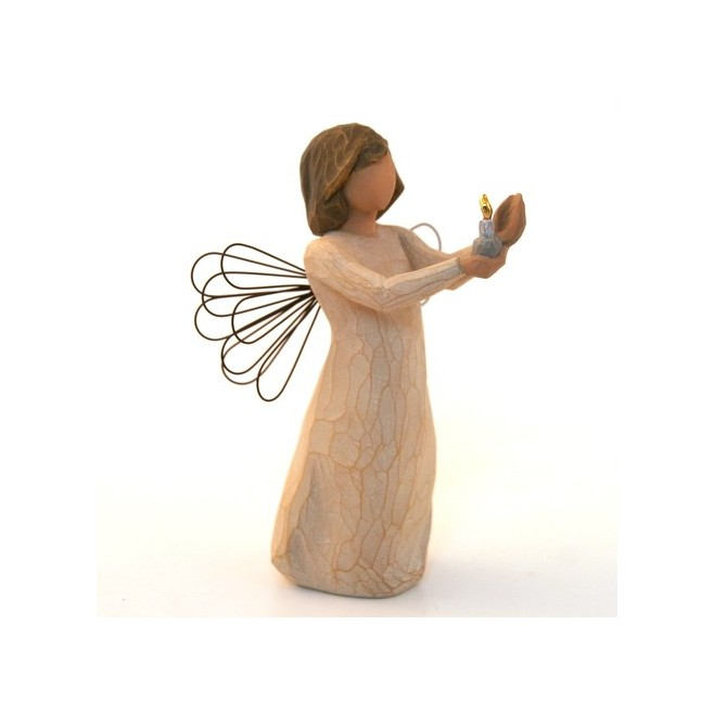 Statue Willow Tree - Angel of hope candle