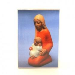 Icone Vierge à l'enfant à genou de Yves le Pape