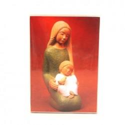 Icone de Yves le Pape Vierge à l'enfant et la colombe