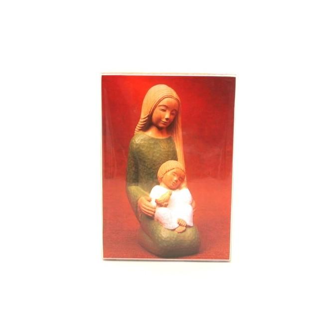 Icone Vierge à l'enfant et la colombe