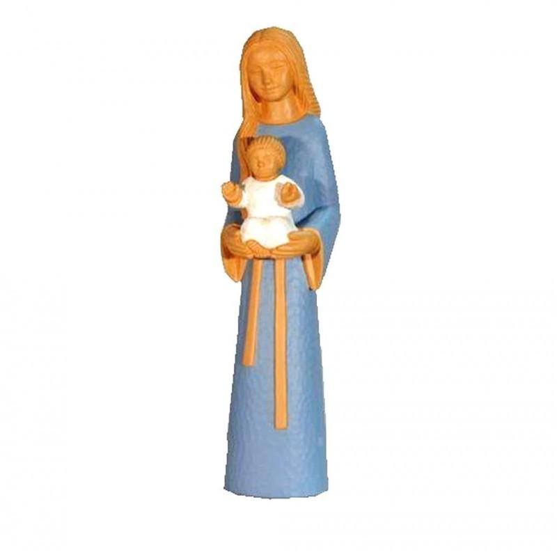 Statue yves le pape marie m re des familles comptoir for Statue vierge marie pour exterieur