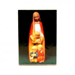 Icone Vierge aux enfants par Yves le Pape