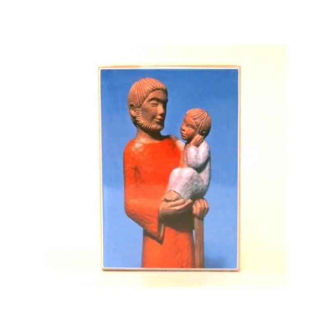 Icone Saint Joseph à l'enfant