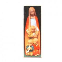 Signet Icone Vierge aux enfants du monde