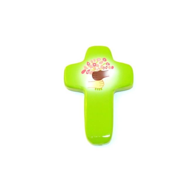 Croix Espoir vert