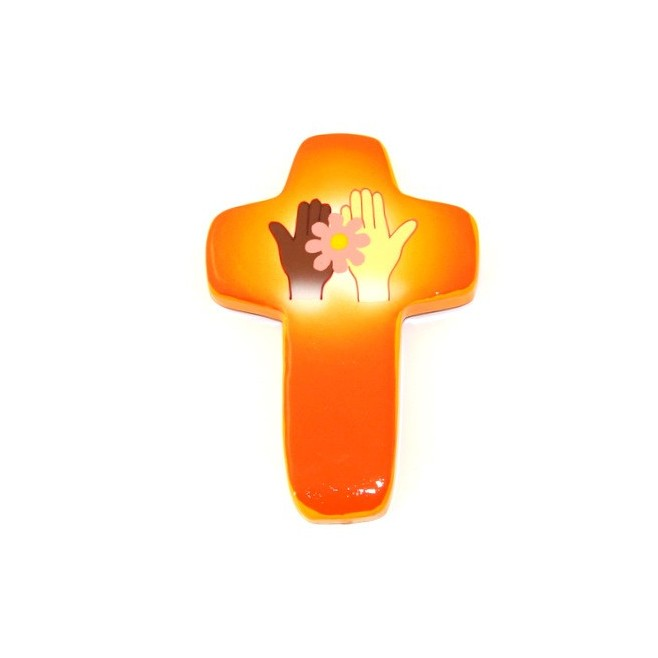 Croix Espoir orange